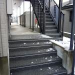 山形市アパート通路・階段