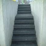 山形市・工場階段通路