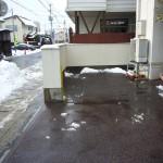 山形市事務所駐車場