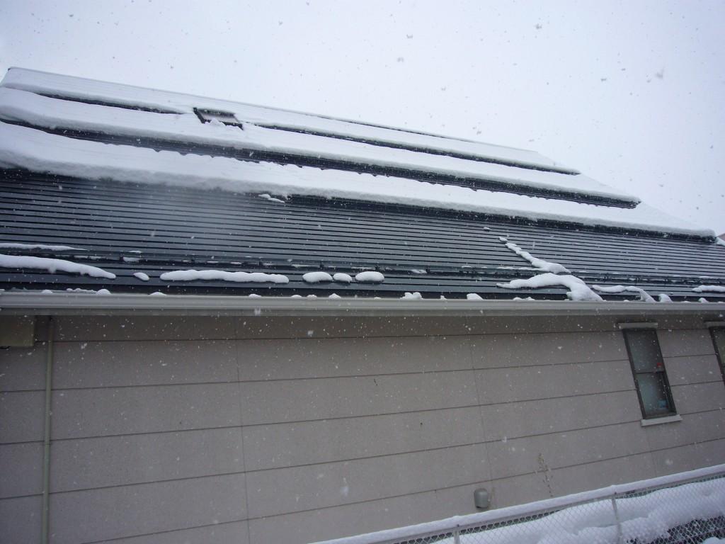 山形市医院屋根融雪