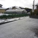 鶴岡市住宅駐車場