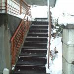 上山市住宅外階段