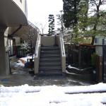 山形市住宅階段