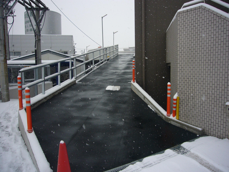 仙台市自走式駐車場スロープ